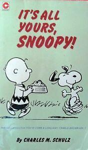 It's All Yours, Snoopy (Coronet Books) von Charles M Schulz | Buch | Zustand gut