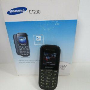 SAMSUNG E1200 MOBILE PHONE - TESCO (R:73D)