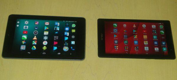 Google Nexus und ein Asus ZenPad Tablets. 2 sehr hochwertiger Tablets. +++TOP+++