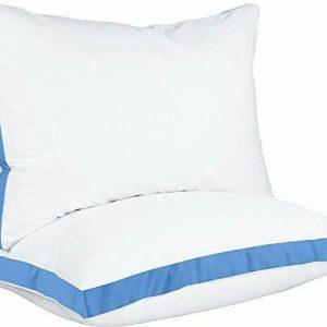 Utopia Bedding Cuscini Letto 45 x 74 cm Set di 2 - Guanciali Letto - Fibra di...