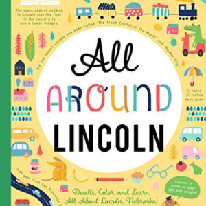 You Are Here Books-All Around Lincoln BOOK NUOVO