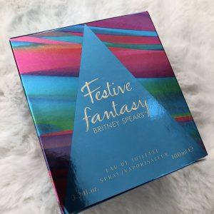 festive fantasy Britney Spears Perfume Fragrance Eaubde Toilette 100ml